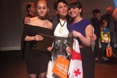 Церемония награждения международного фестиваля