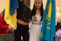 Участники фестиваля из Украины и Казахстана